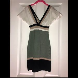 M Missoni multicolor bandage dress